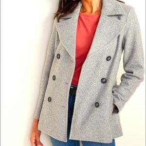 René Lezard 80% Wool Women's Peacoat Jacket - 6